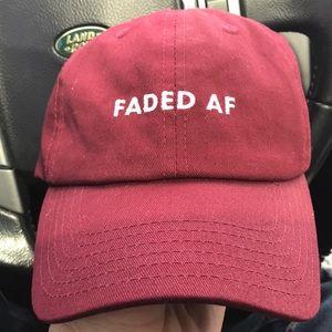 Other - Faded AF  dad hat